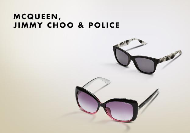 Mcqueen, Jimmy Choo & Police