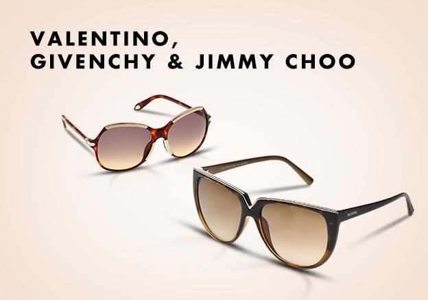 Valentino, Givenchy & Jimmy Choo