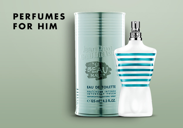 Perfumes for him!