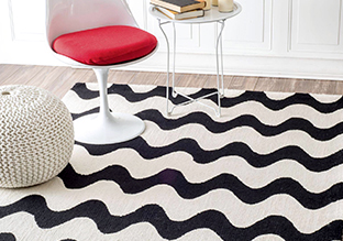 Black & White Rugs!