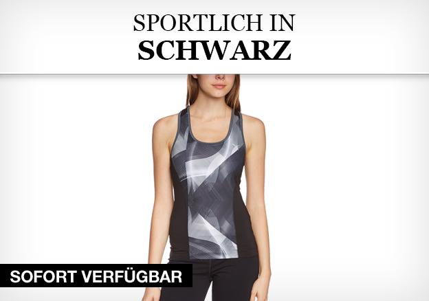 Sportlich in Schwarz