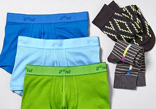 Le necessità : Socks & Underwear!