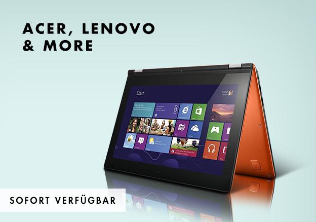 Acer, Lenovo & more