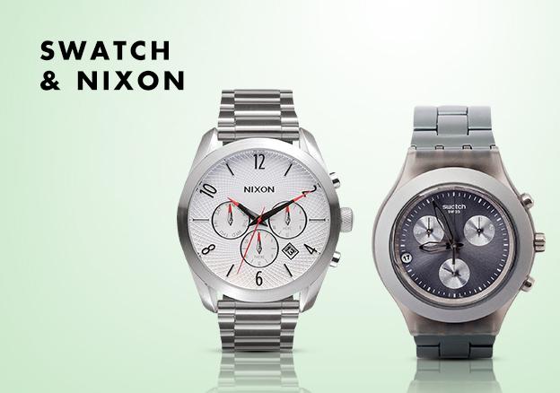 Swatch & Nixon!