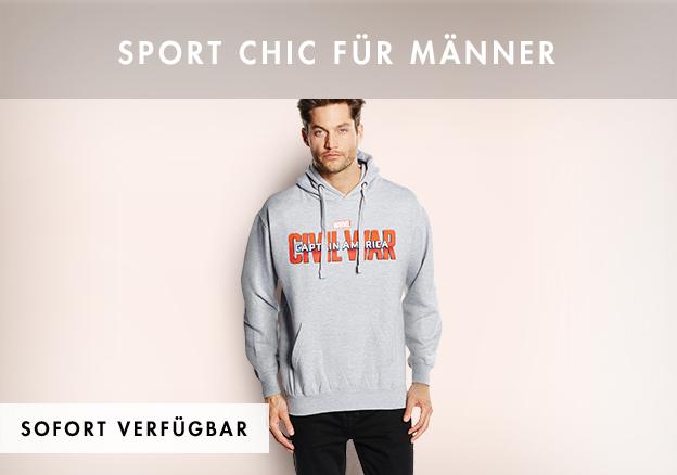 Sport Chic für Männer