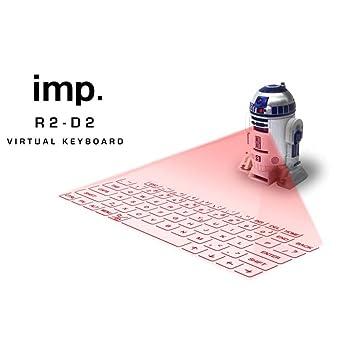 【May the Force be with you.】キー操作時は、R2-D2の音声が。スター・ウォーズならではの6種の効果音が楽しめる。