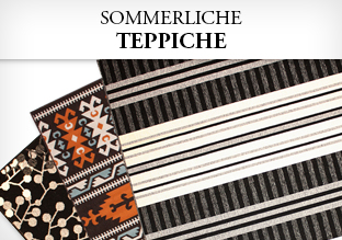 Sommerliche Teppiche
