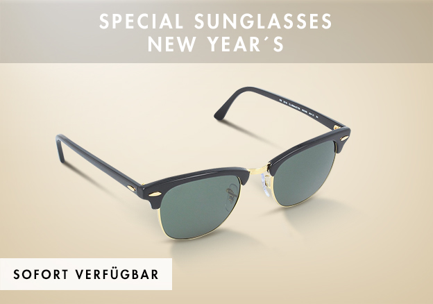 Special Sunglasses New Year´s