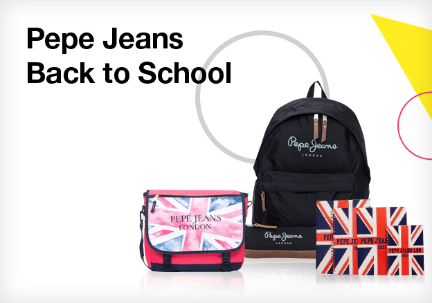Pepe Jeans: Back to School!