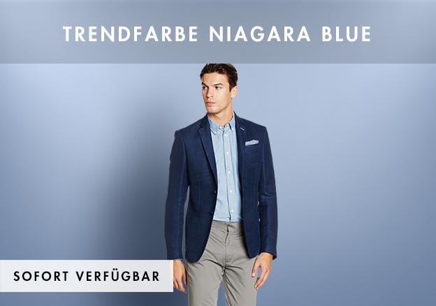 Trendfarbe Niagara Blue bis -75%