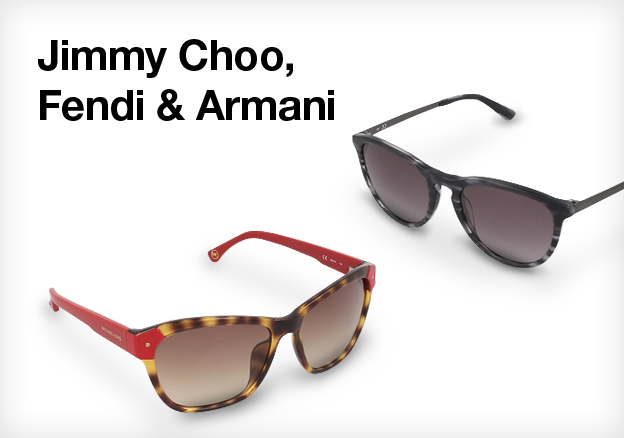 Jimmy Choo, Fendi & Armani