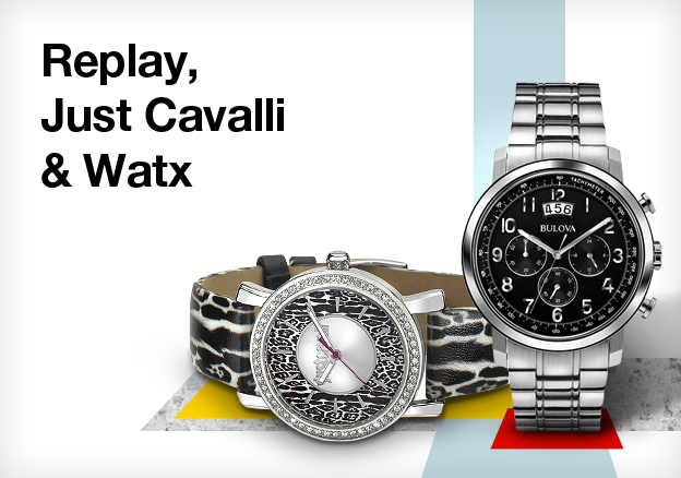 Replay, Just Cavalli & Watx