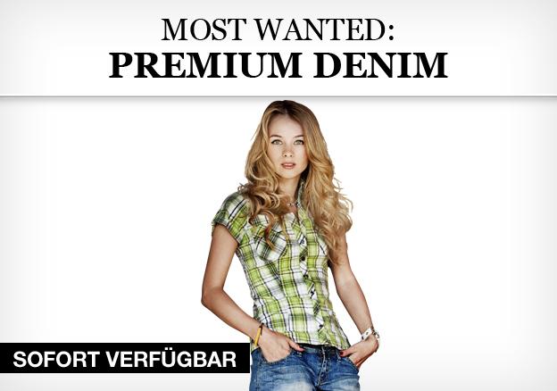 Most Wanted: Premium Denim
