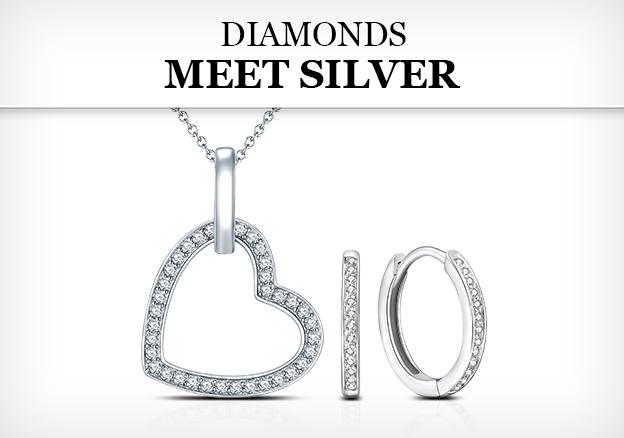Diamonds meet Silver