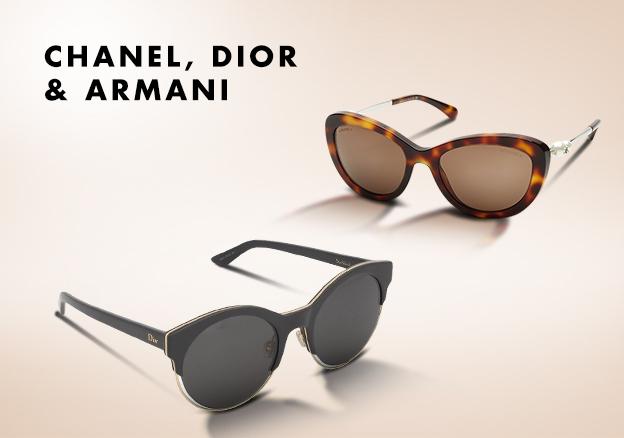 Chanel, Dior & Armani