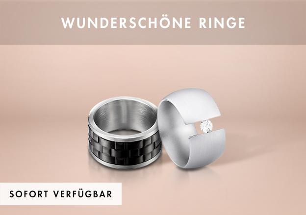 Wunderschöne Ringe bis zu -75%!