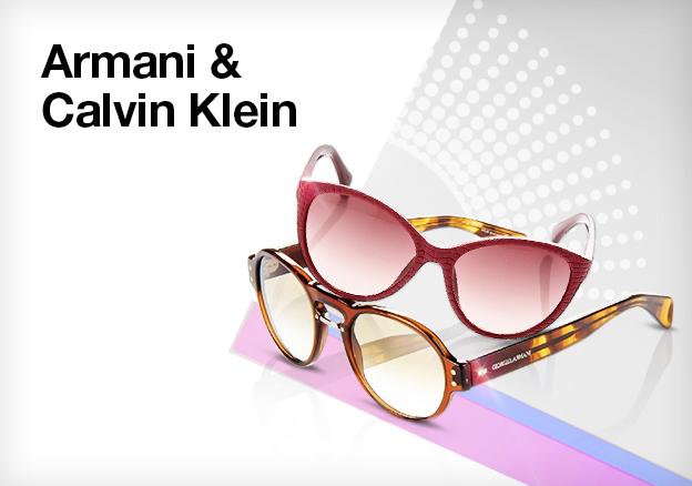 Armani & Calvin Klein