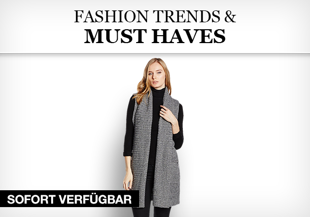 Fashion Trends & Must Haves