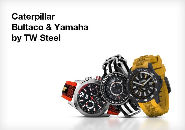 Caterpillar, Bultaco & Yamaha by TW Steel