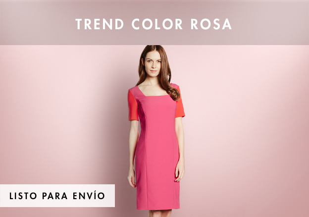 Trend color rosa hasta -76%