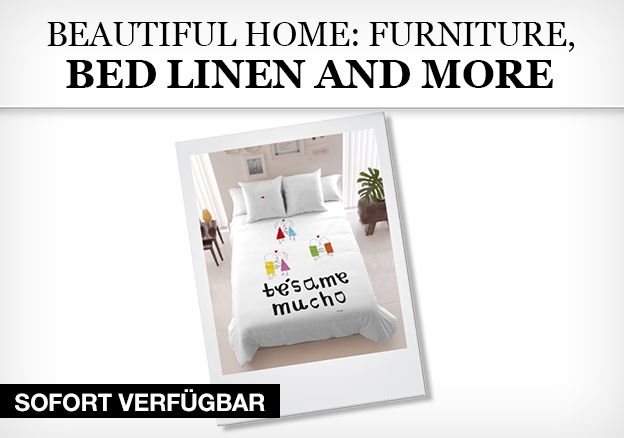 Beautiful home: furniture, bed linen and more