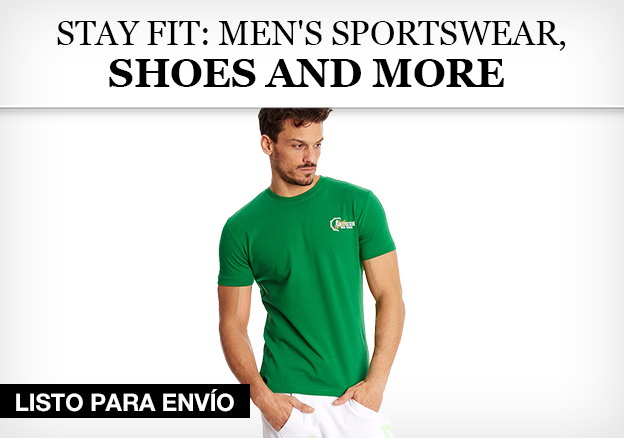 Stay fit: men's sportswear, shoes and more
