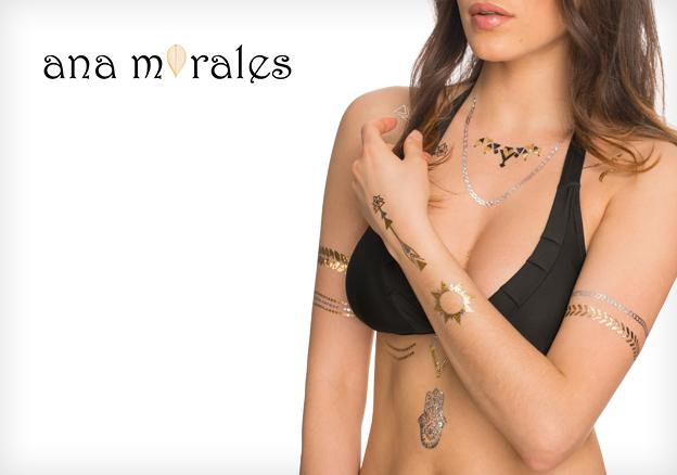 Ana Morales Flash Tattoos