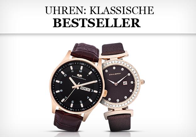 Uhren: klassische Bestseller