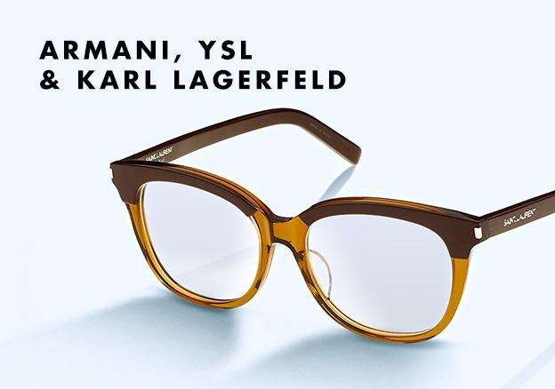 Armani, YSL & Karl Lagerfeld!