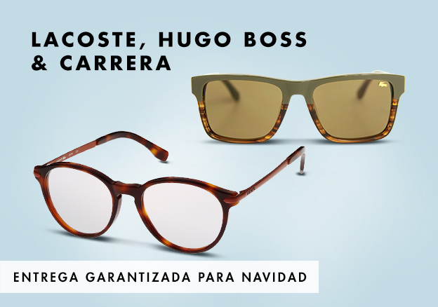 Lacoste, Hugo Boss & Carrera!