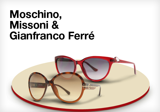 Moschino, Missoni & Gianfranco Ferré