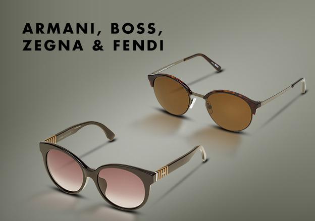 Armani, Boss, Zegna & Fendi!