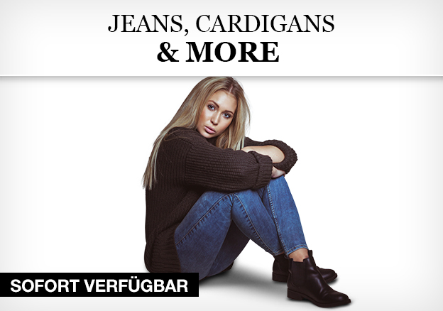 Jeans, Cardigans & More