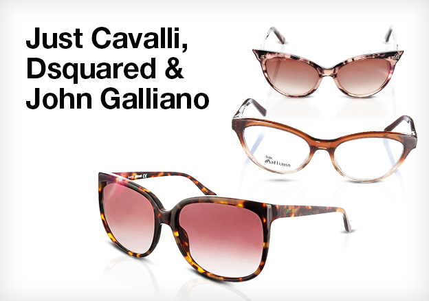 Just Cavalli, Dsquared & John Galliano