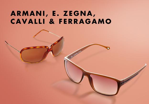 Armani, E. Zegna, Cavalli & Ferragamo
