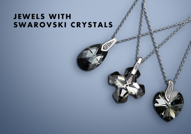 Jewelry with Swarovski Crystals
