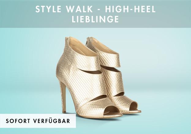Style Walk - High-Heel Lieblinge bis -79%