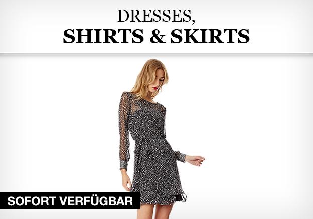 Dresses, Shirts & Skirts
