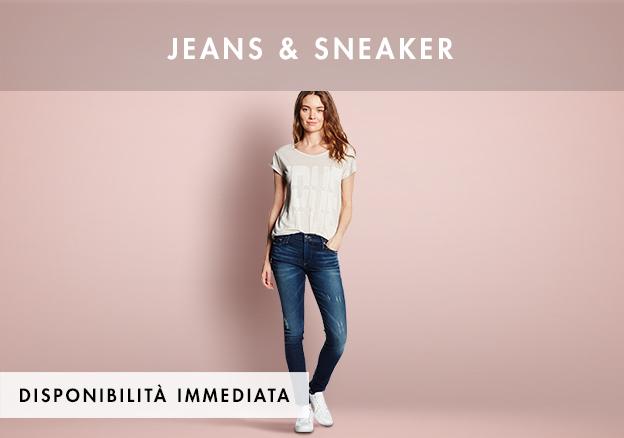Jeans & Sneaker