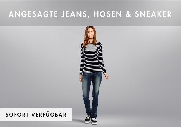 Angesagte Jeans, Hosen & Sneaker bis zu -70%!