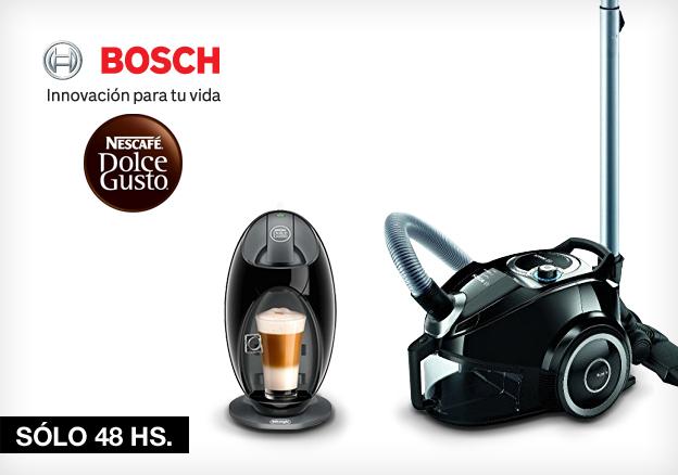 Flash 48 Horas Bosch Dolce Gusto y Ufesa!