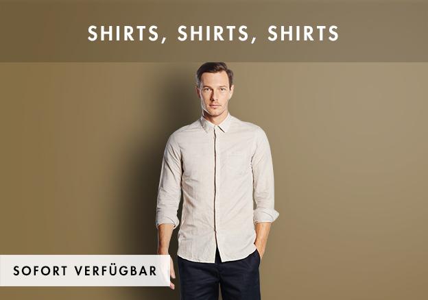Shirts, shirts, shirts!