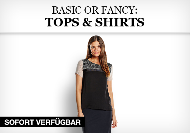 Basic or Fancy: Tops & Shirts