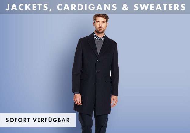 Jackets, Cardigans & Sweaters