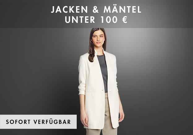 Jacken & Mäntel unter 100 Euro bis zu -72%