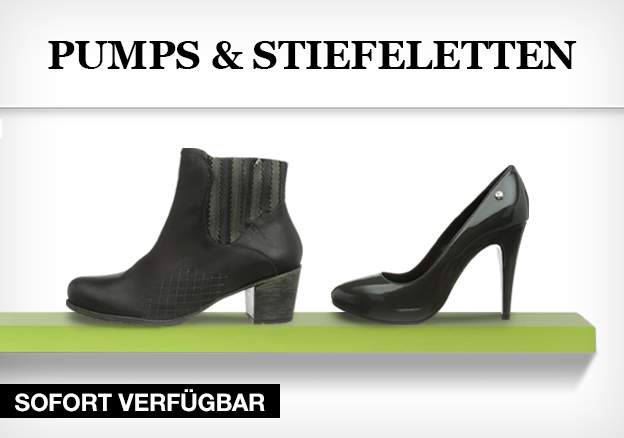 Pumps & Stiefeletten