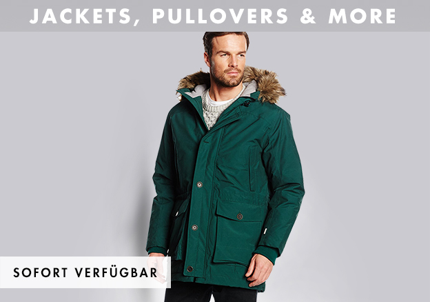 Jackets, pullovers & more