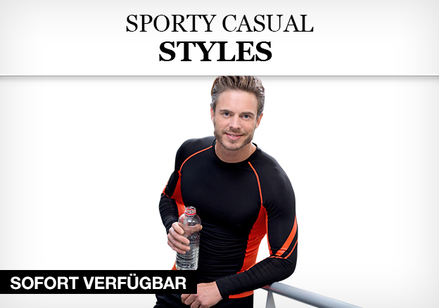 Sporty casual styles