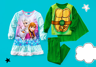 $14 & Under: Character PJs for Kids