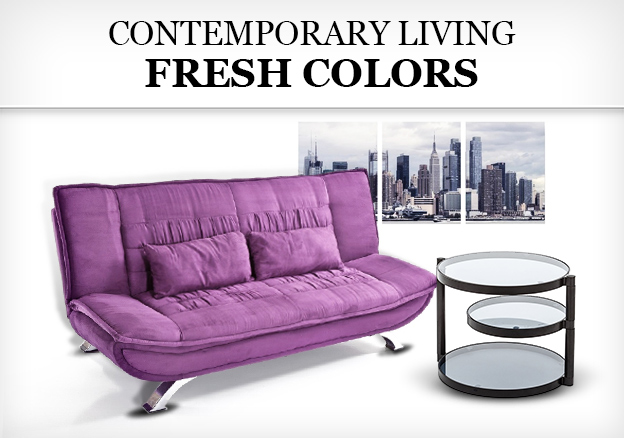Contemporary Living Fresh Colors